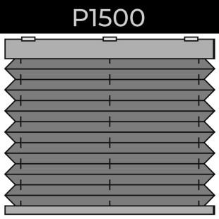 plisse 20mm - recht raam - easylift - 18. P1500