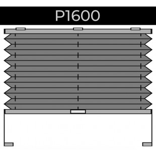 plisse 20mm - recht raam - magneetframe - 11. P1600 magneetframe