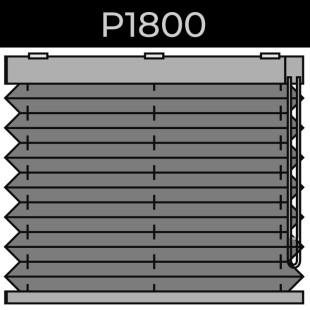 plisse 20mm - recht raam - ketting - 15. P1800