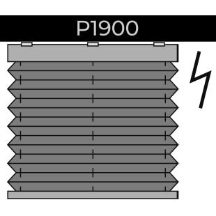 plisse 20mm - recht raam - elektrisch Brel - 19. P1900 Brel
