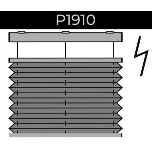 plisse 20mm - recht raam - elektrisch Brel - 21. P1910 Brel