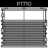 plisse 20mm - recht raam - koord - 3. P1710