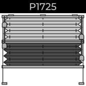 plisse 20mm - recht raam - koord - 6. P1725