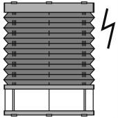 dibli 25mm - plafondraam - elektrisch Brel - 29. P3900 Brel