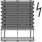 dibli 25mm - plafondraam - elektrisch Brel - 30. P3902 Brel