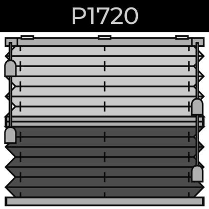 plisse 20mm - recht raam - koord - 5. P1720