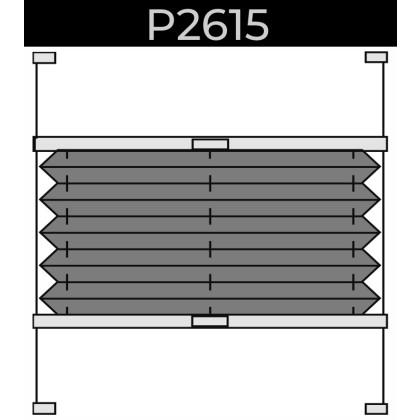 plisse 20mm - dakraam - handgreep - 23. P2615