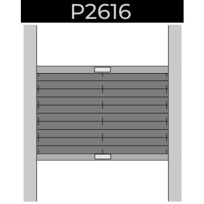 plisse 20mm - dakraam - handgreep - 26. P2616