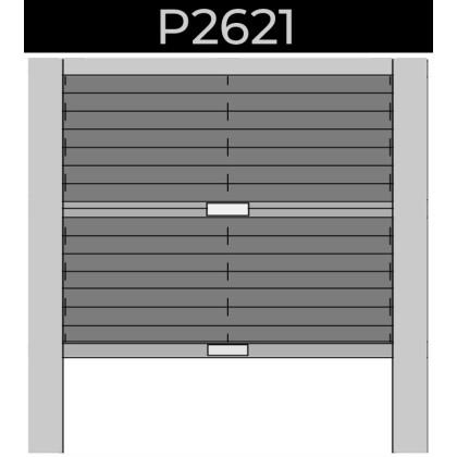 plisse 20mm - dakraam - handgreep - 27. P2621